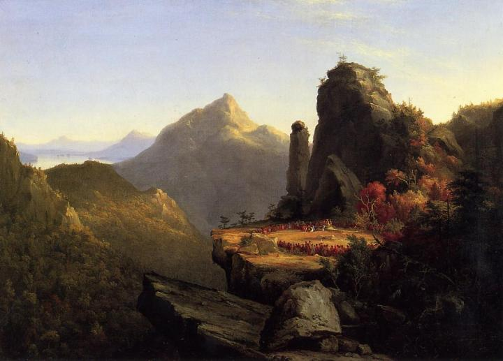scene-from-the-last-of-the-mohicans-cora-kneeling-at-the-feet-of-tanemund-1827