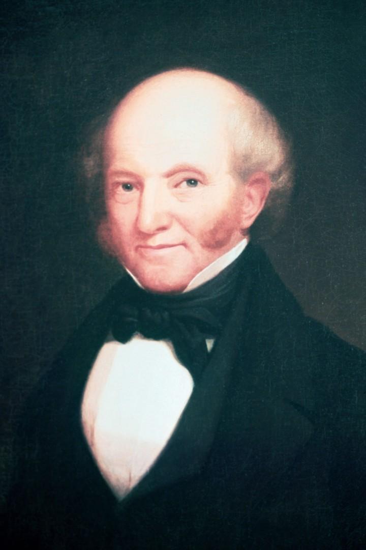 Painted Portrait Of Martin Van Buren