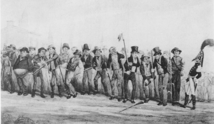 1828_militiamuster_watercolor_bydcjohnston_aas