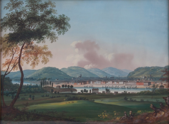 john_caspar_wild_-_cincinnati_from_behind_newport_barracks_-_google_art_project