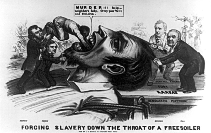 forcing_slavery_freesoilers_throats