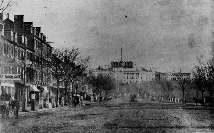 brady-pennsylvania-avenue-looking-toward-capitol