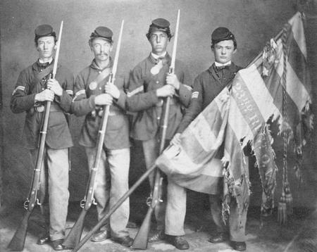 23rd_ohio_volunteer_infantry_color_guard