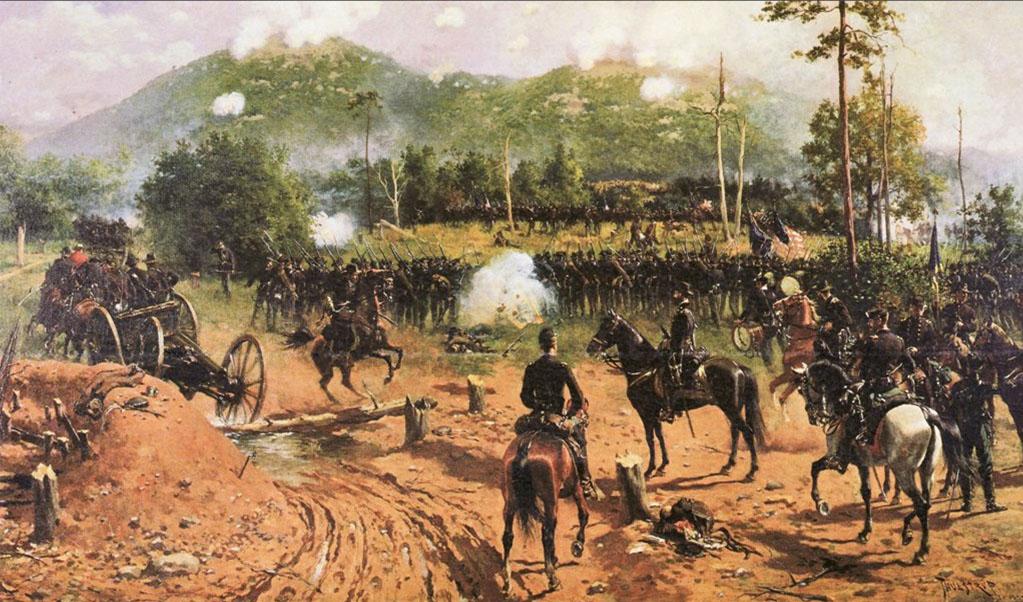 ECWC TOPIC Atlanta Campaign Dalton to Chattahoochee PIC Battle of Kennesaw Mountain